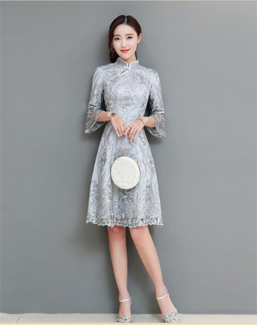 結婚式 ドレス 50代 夏