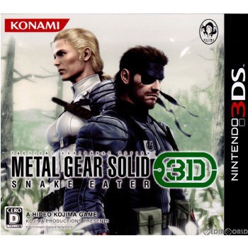 【中古即納】[3DS]METAL GEAR SOLID 3 SNAKE EATE...