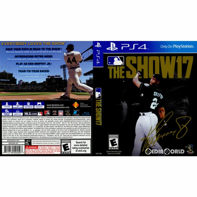 【中古即納】[PS4]MLB The Show 17(MLB ザ ショー...