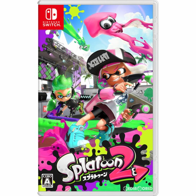 【中古即納】[Switch]Splatoon 2(スプラトゥーン2...