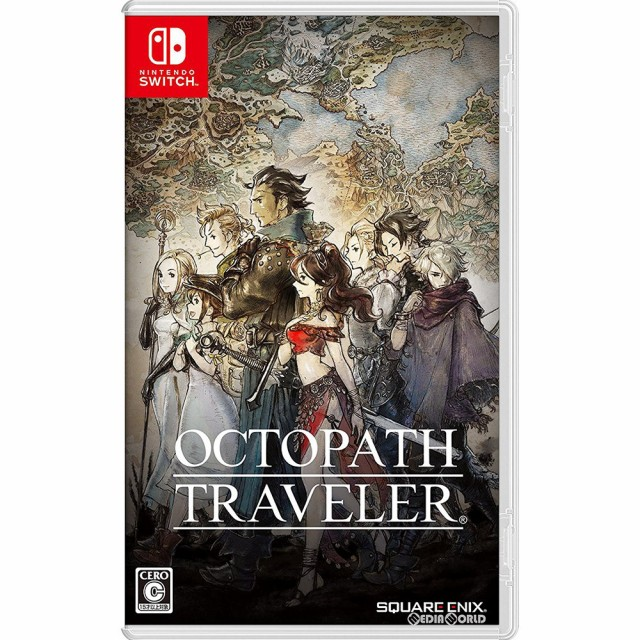 【中古即納】[Switch]オクトパストラベラー(OCTOP...