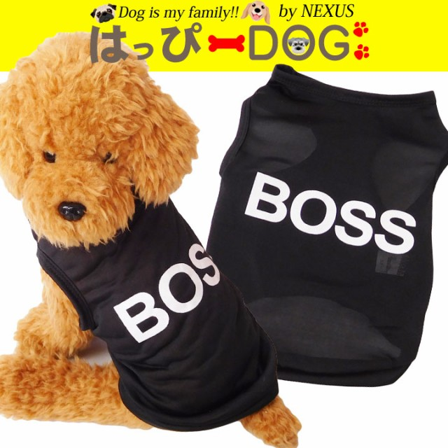 犬 服 犬の服 ドッグウェア 犬服 タンクトップ BO...