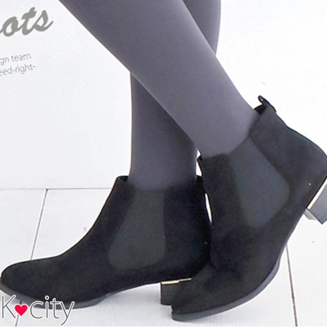 【シークレットSALE】  ショートブーツ サイドゴ...