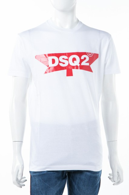 ディースクエアード DSQUARED2 Tシャツ ホワイト ...