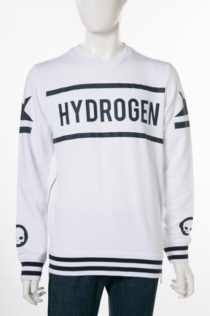 ハイドロゲン HYDROGEN トレーナー ホワイト メン...