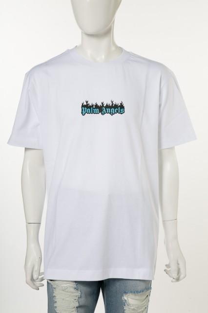 パームエンジェルス PALM ANGELS Tシャツ ホワイ...