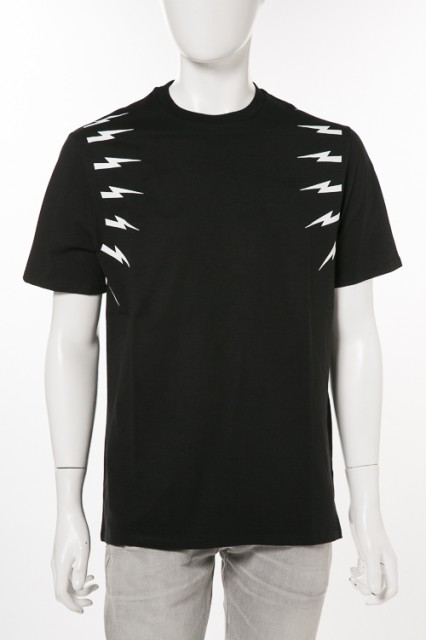 ニールバレット Neil Barrett Tシャツ ブラック ...