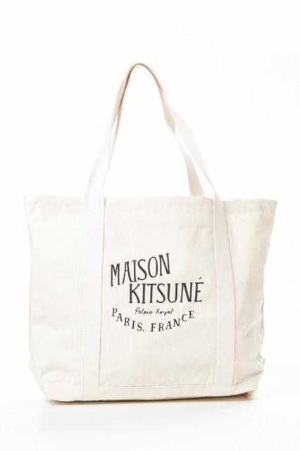 メゾン キツネ MAISON KITSUNE トートバッグ ベー...