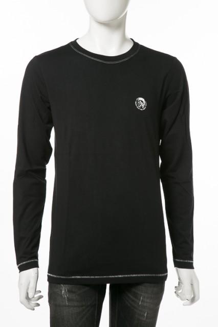 ディーゼル DIESEL ロングTシャツ ブラック メン...