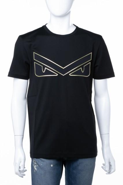 フェンディー FENDI Tシャツ ブラック メンズ (FA...