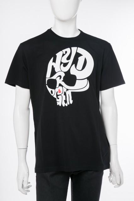 ハイドロゲン HYDROGEN Tシャツ カットソー ブラ...