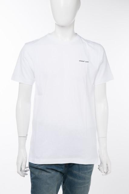 オフホワイト OFF-WHITE Tシャツ カットソー ホワ...