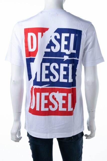 ディーゼル DIESEL Tシャツ カットソー ホワイト ...