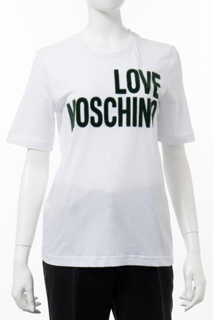 ラブモスキーノ LOVE MOSCHINO Tシャツ 半袖 丸首...