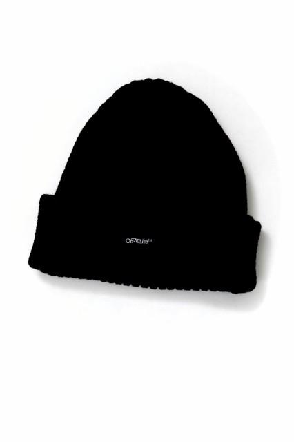 オフホワイト OFF-WHITE ニットキャップ ニット帽...