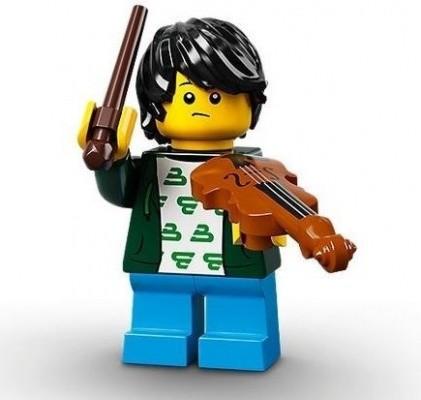 レゴ ミニフィグ シリーズ21 Violin Kid