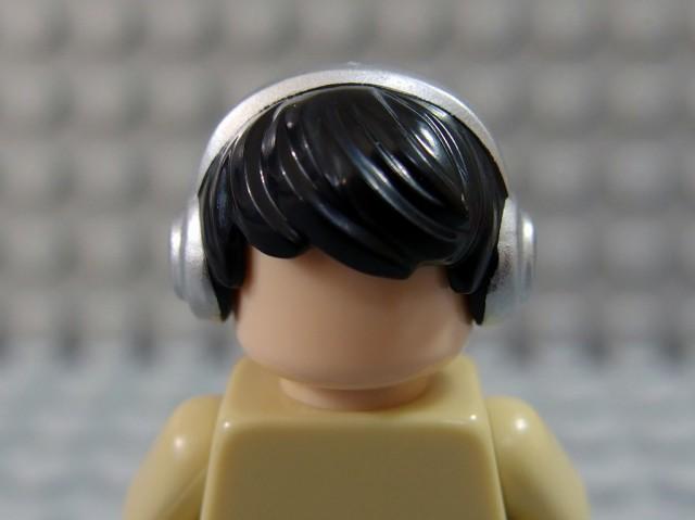 レゴ ミニフィグヘアー 10166pb01-011