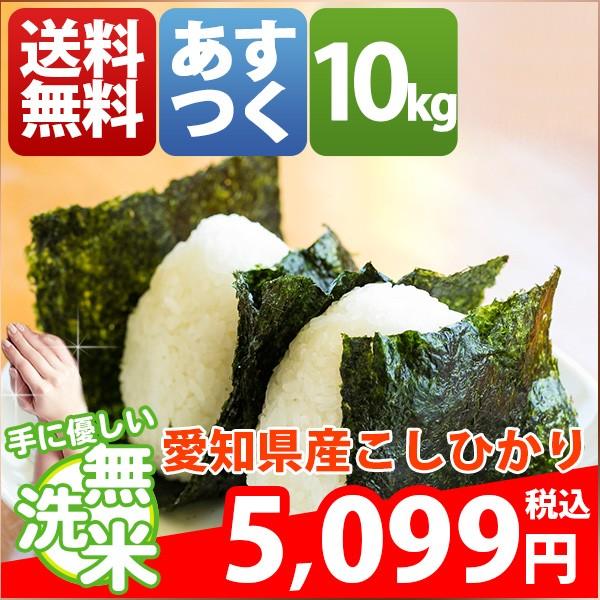 お米 10kg 安い 愛知県 無洗米 こしひかり10キロ ...