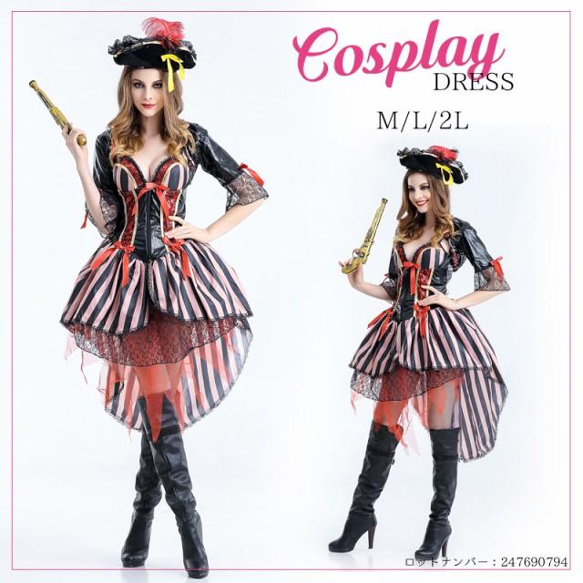 【即納】M〜2L★海賊パイレーツ ハロウィン仮...