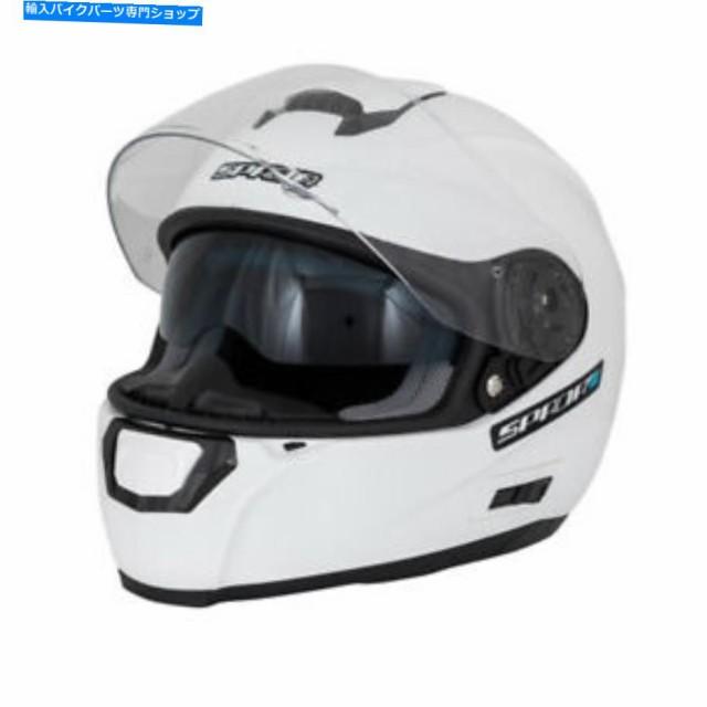 ヘルメット SPADA SP15ホワイトX小ヘルメット SPA...
