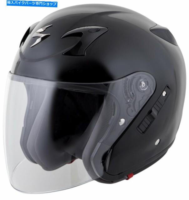 ヘルメット SCORPION EXO-CT220ソリッドオープン...