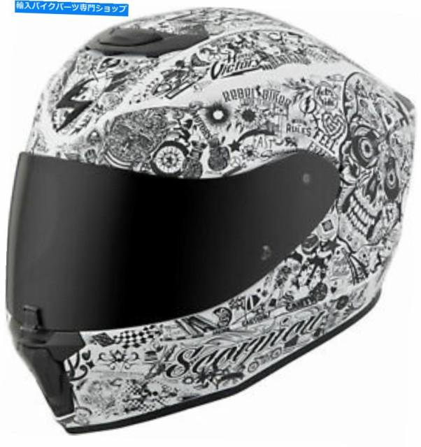 ヘルメット スコーピオンEXO-R420はフルフェイス...