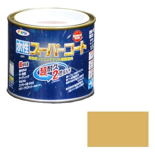 アサヒペン 水性スーパーコート 1/5L ベージュ ※...