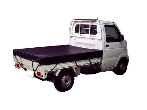 IZUMI ターポリン軽トラ用トラックシート ブラッ...