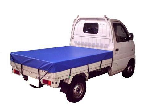 IZUMI ターポリン軽トラ用トラックシート ブルー ...