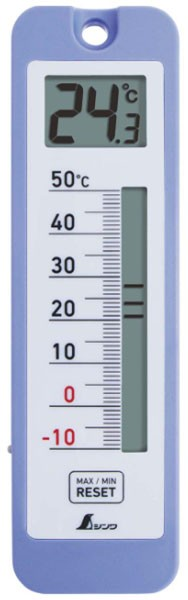 シンワ デジタル温度計 D-10 最高 最低 防水型 ※...