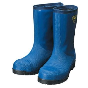 シバタ工業 冷蔵庫長靴-40℃ ネイビー 24.0cm NR0...