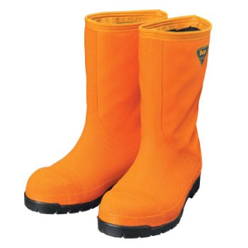 シバタ工業 冷蔵庫長靴-40℃ オレンジ 30.0cm NR0...