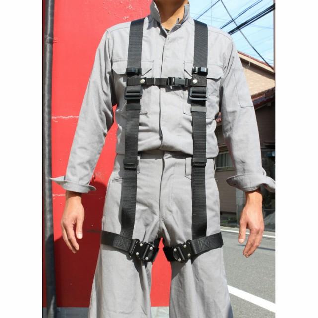 椿モデル ハーネス型安全帯 X型 一本吊り専用 M ...