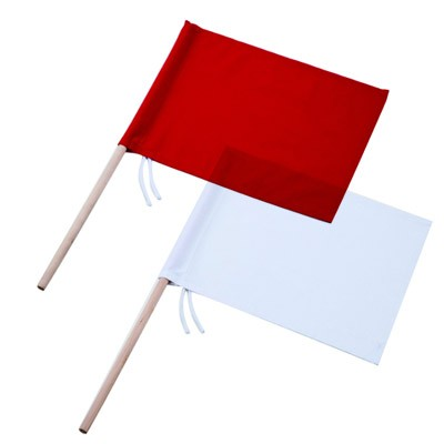 新潟精機 工事用旗 紅白組 KH-1