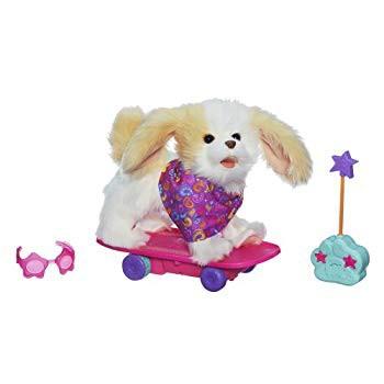 FurReal友人トリクシー - スケートボード子犬