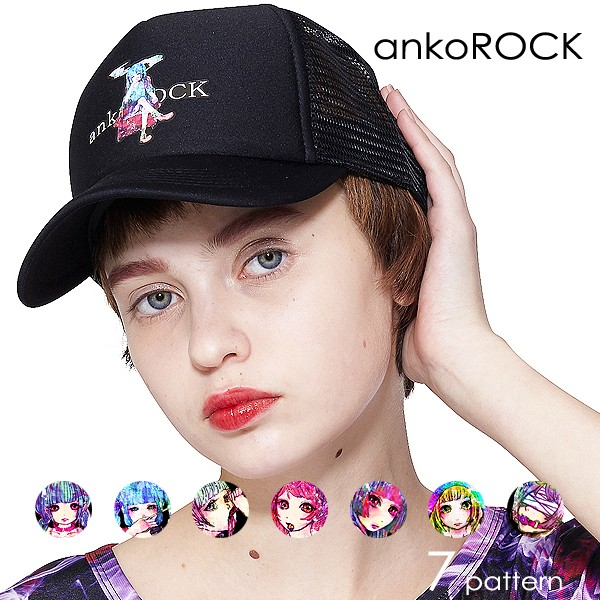 ankoROCK アンコロック キャップ 帽子 メッシュキ...