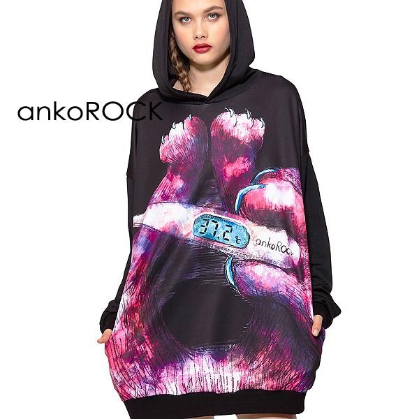 503d5806600bdd ankoROCK アンコロック Tシャツ メンズ レディース ユニセックス 半袖 ...