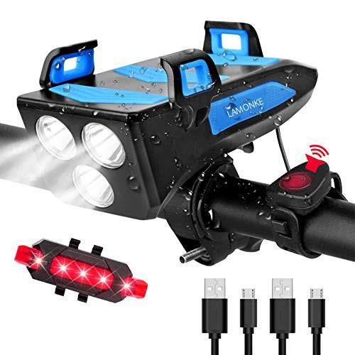 自転車 ライト ロードバイク 防水 防振 LEDライト...