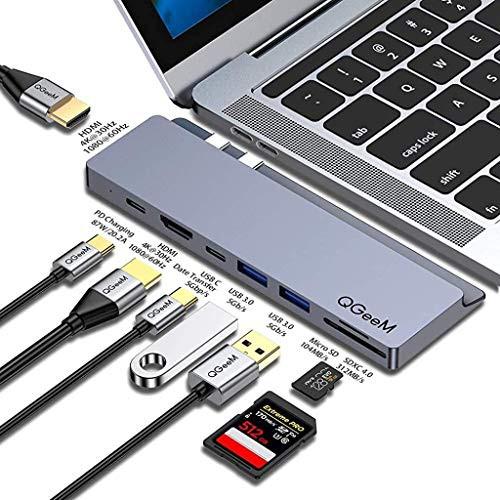 【送料無料】USB C ハブ,QGeeM MacBook pro ハブ,...