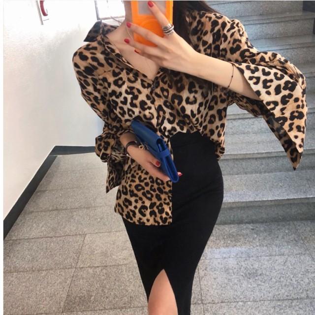 レディース ファッション トップス ブラウス 韓国...