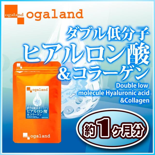 W低分子ヒアルロン酸&コラーゲン(約1ヶ月分)3...