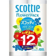 【タイムセール】スコッティ フラワーパック 2倍...