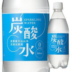 国産 天然水仕込みの炭酸水 ナチュラル(500mL*24...