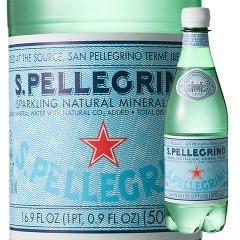 サンペレグリノ ペットボトル 炭酸水(500mL*24本...