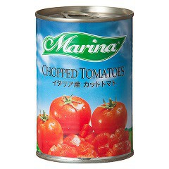 【タイムセール】Marina イタリア産 カットトマト...