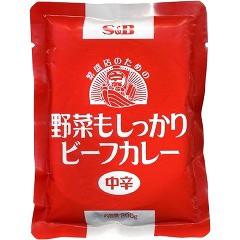 エスビー食品 野菜もしっかりビーフカレー 中辛(2...