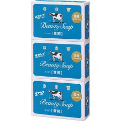 牛乳石鹸 カウブランド 青箱 バスサイズ(135g*3コ...