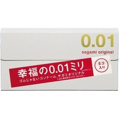コンドーム/サガミオリジナル001(5コ入)(発送可能時期:3-7日(通常))[コンドーム うすうす]