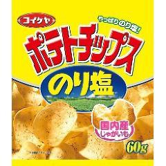 湖池屋 ポテトチップス のり塩(60g)(発送可能時期...