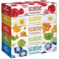 スコッティ ティシュー フラワーボックス(320枚(1...